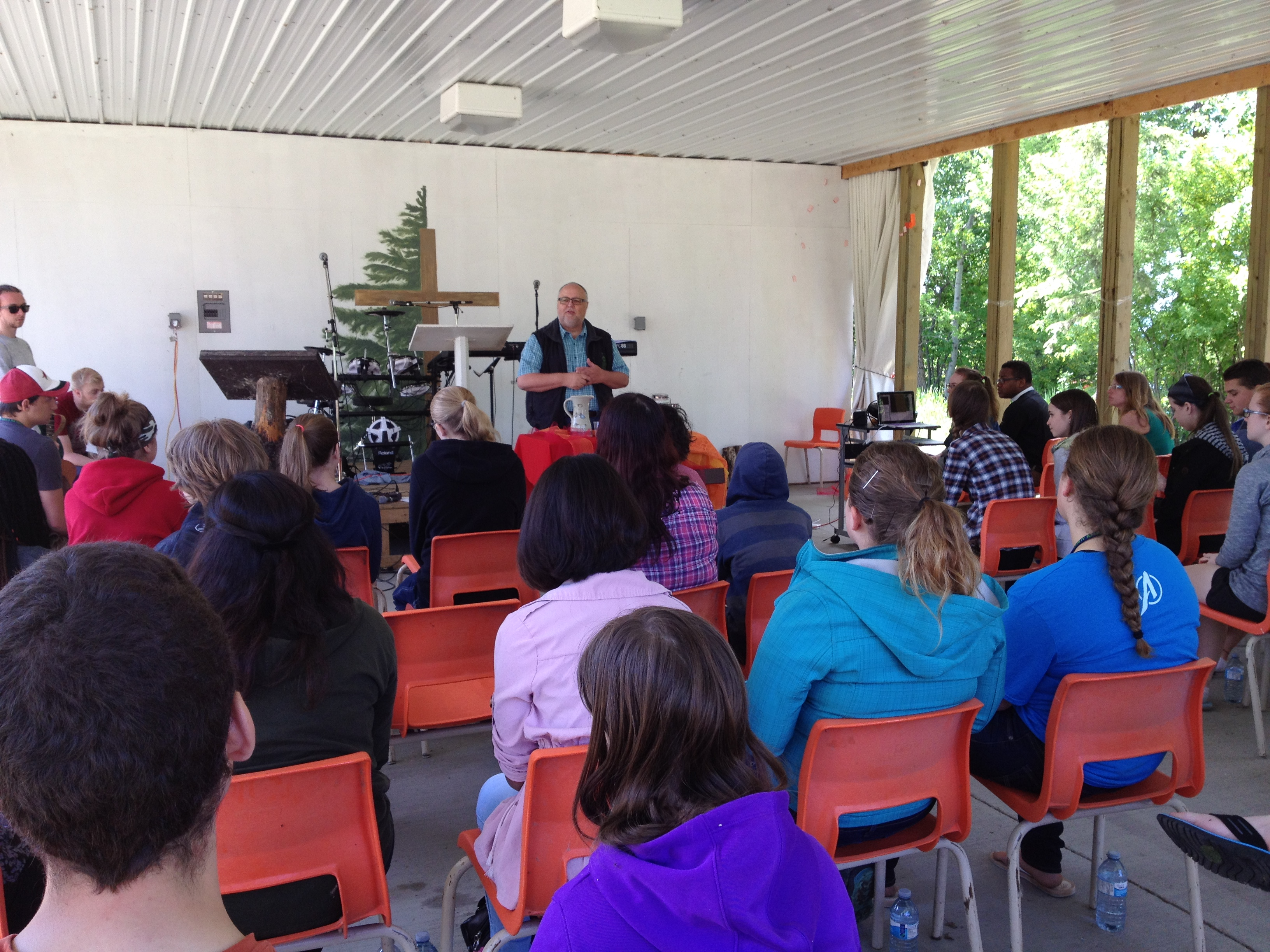 Bishop Larry at 2015 Synod Youth Gathering