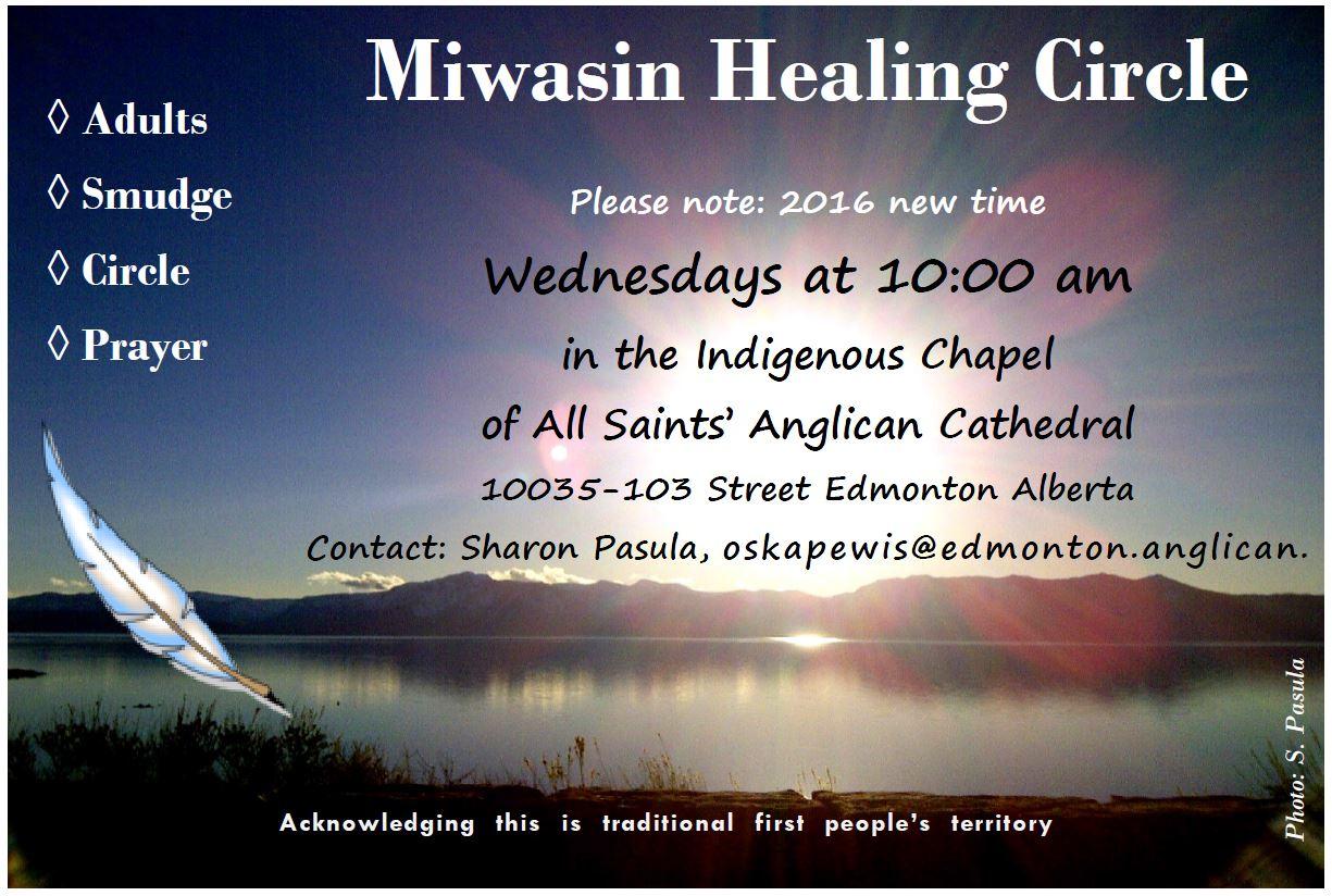 Miwasin Healing Circle poster