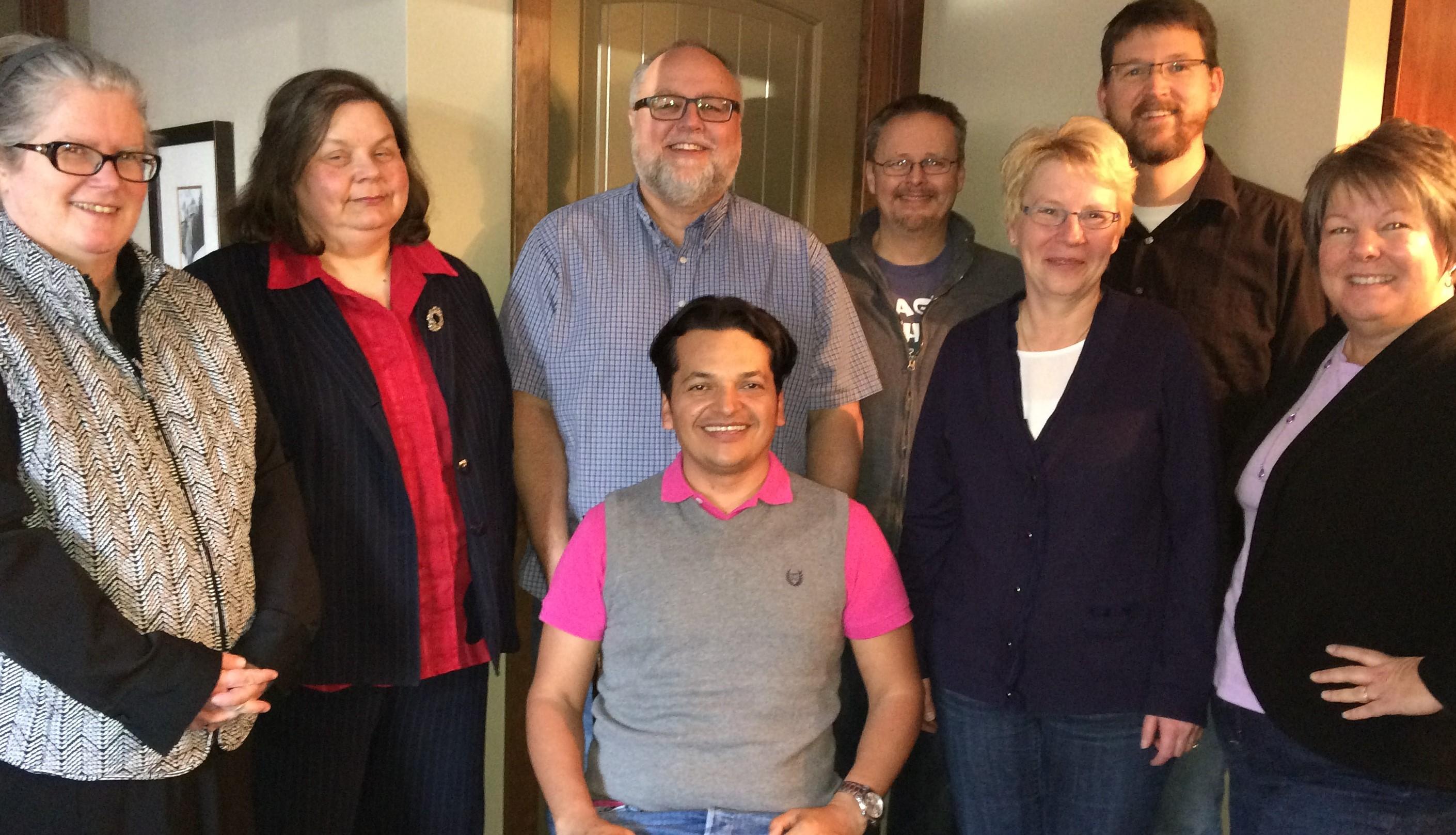 Christian Chavarria Deans Synod staff (2)