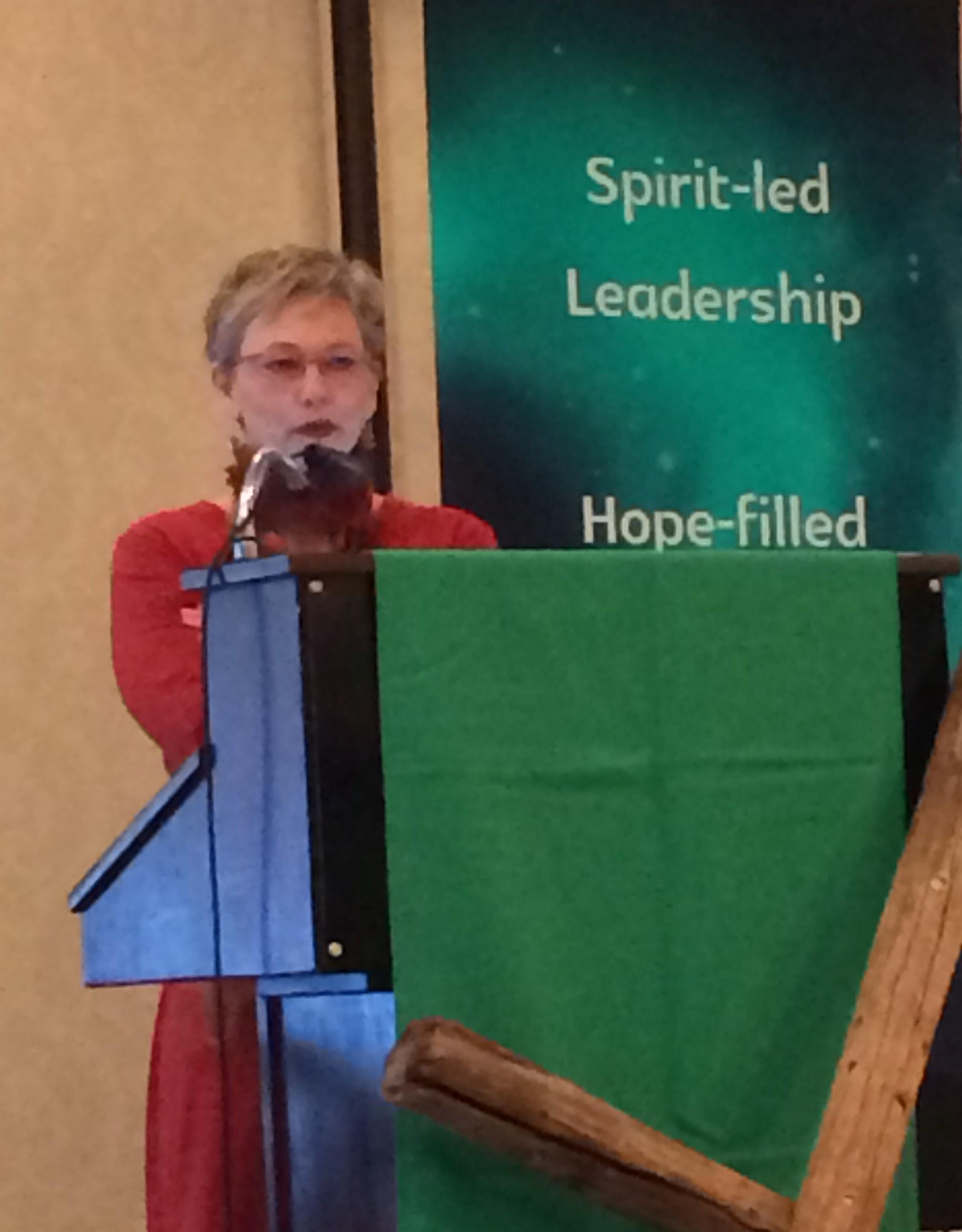 Keynote speaker Anna Madsen OMG ministries (2)
